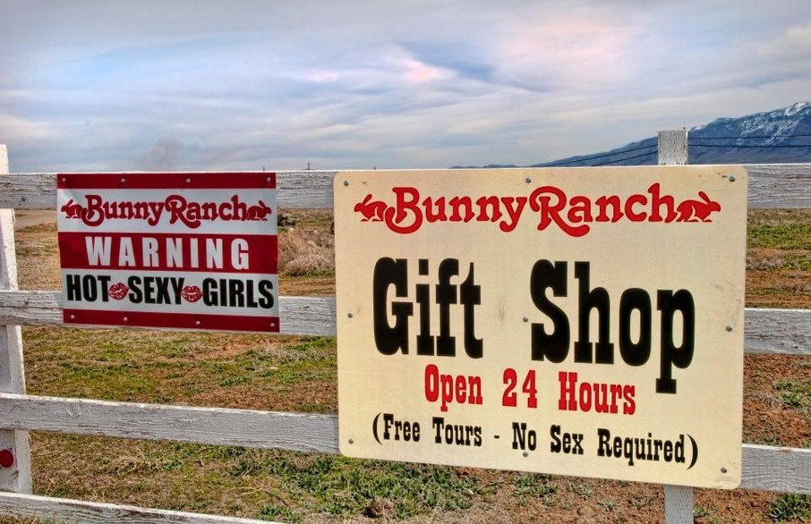 where is the bunny ranch located
