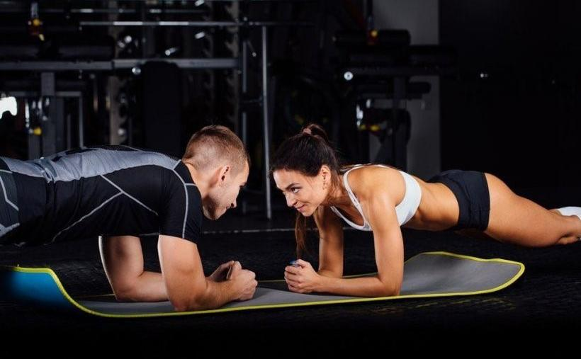 Sex porn Gym workout
