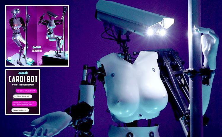 Webcam Sex Site Camsoda Has The First Ever Robot Stripper Porn