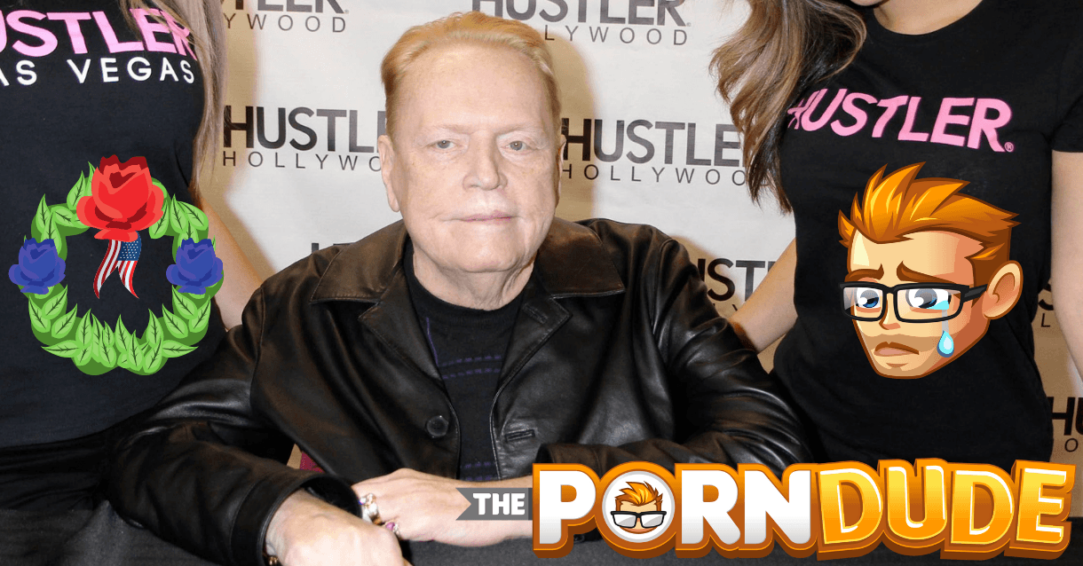 ¡Mierda!  Larry Flynt acaba de morir |  Chico porno – blog