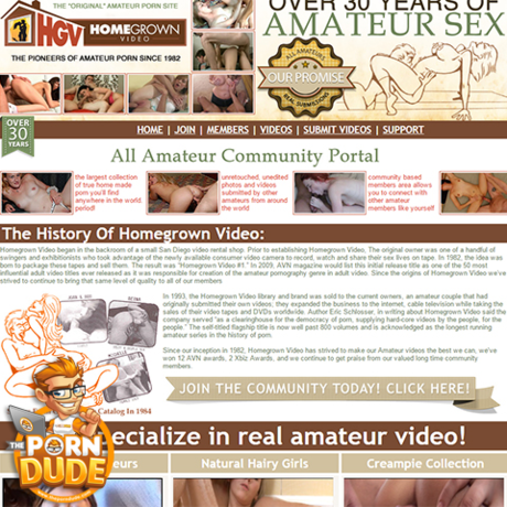 homegrown porn site We partnered up with  Homegrown Video ✅ to offer you all your favorite porn for free.