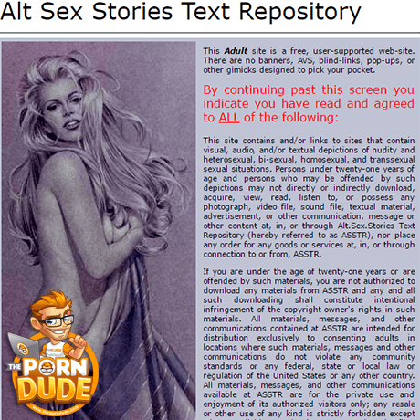 Alt sex stories bondage cannot