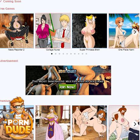 cartoon porn adult sex game
