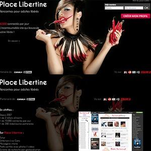 Les sites de rencontre libertine
