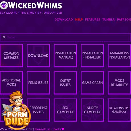 Wicked Whims Mod